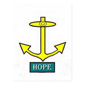 Rhode - öhopp ankrar vykort