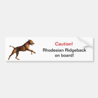 Rhodesian Ridgeback bildekal