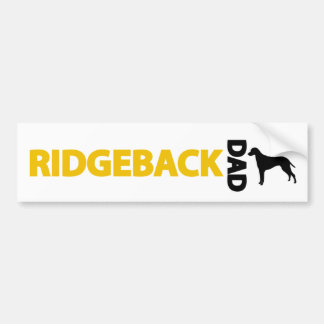 Rhodesian Ridgeback pappa Bildekal