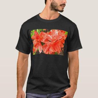 Rhododendron i orange t-shirts