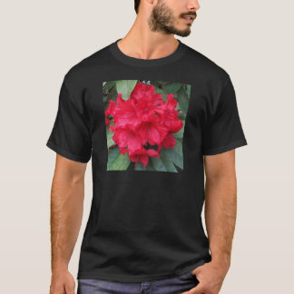 Rhododendron i rött t shirts