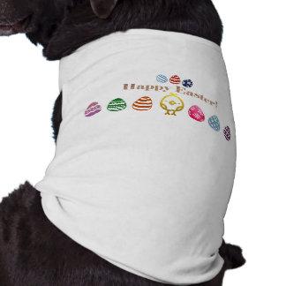 Ribbed tanktop för påskdesign vovve hundtröja