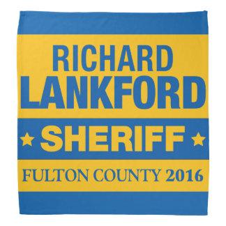 Richard Lankford för sheriffBandana Bandanna