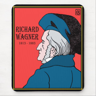 Richard Wagner Mousepad Musmatta