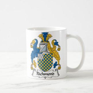 Richmond familjvapensköld kaffemugg