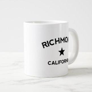 Richmond Kalifornien stor kaffemugg Jumbo Mugg