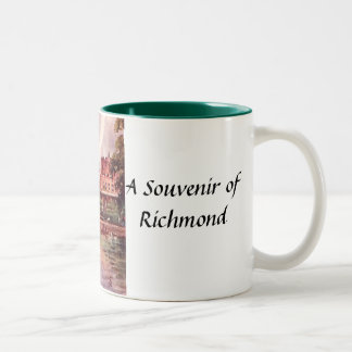Richmond souvenirmugg Två-Tonad mugg