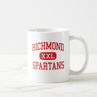 Richmond - Spartans - kick - Richmond Missouri Kaffemugg