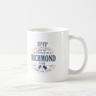 Richmond Utah 150. årsdagmugg Kaffemugg