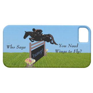 Rid- hästjumper iPhone 5 Case-Mate fodraler