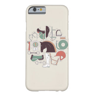 Rid- nödvändighetsiphone case barely there iPhone 6 skal