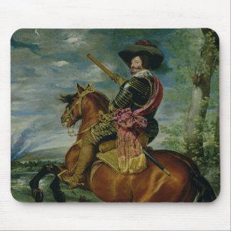 Rid- porträtt av Universitetslärare Gaspar de Guzm Musmatta