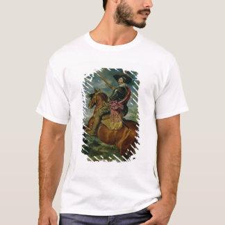 Rid- porträtt av Universitetslärare Gaspar de T Shirts