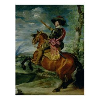 Rid- porträtt av Universitetslärare Gaspar de Vykort