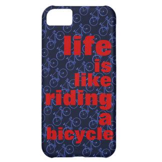rida en cykel iPhone 5C skydd
