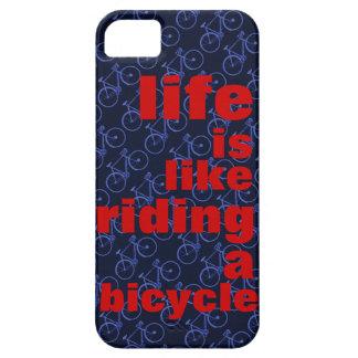 rida en cykel iPhone 5 Case-Mate fodraler