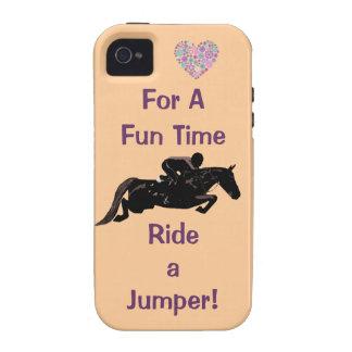 Rida ett fodral för jumperiPhone 4 för en roliga T