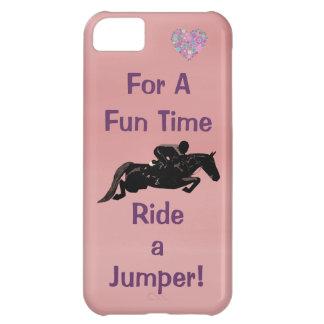 Rida ett fodral för jumperiPhone 5 för en roliga T iPhone 5C Mobil Fodral
