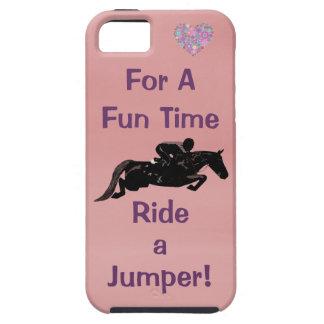 Rida ett fodral för jumperiPhone 5 för en roliga T iPhone 5 Skal