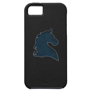 Rida hästen blått iPhone 5 Case-Mate fodral