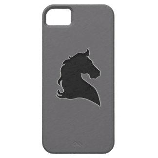 Rida hästen svarten iPhone 5 Case-Mate skydd