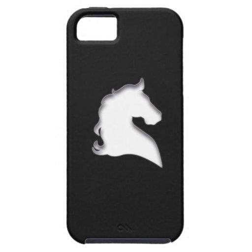Rida hästen (vit) iPhone 5 cases
