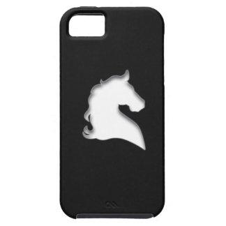 Rida hästen (vit) iPhone 5 hud