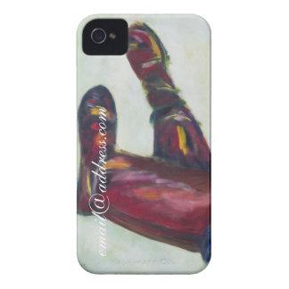 Rida konst för original för fodral för kängaanpass iPhone 4 Case-Mate fodral