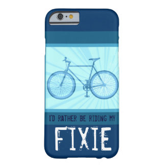 Rida min Fixie cykelvintage cykla fodral för Barely There iPhone 6 Skal