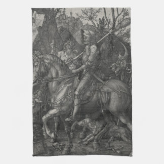 Riddare, död och djävulen av Albrecht Durer Kökshandduk