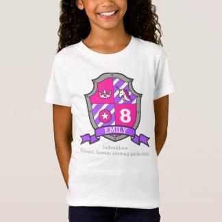 Riddare för Emily känd menande 8th T-shirts