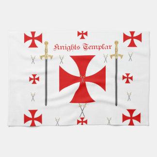 Riddare Templar Kökshandduk