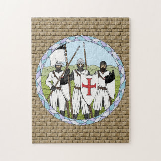 Riddare Templar Pussel