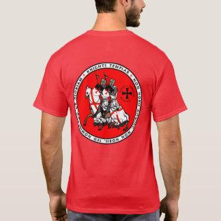 Riddare Templar två riddare förseglar skjortan V1 T-shirts