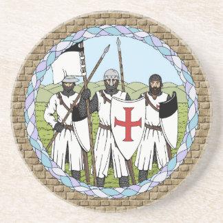 Riddare Templar Underlägg Sandsten