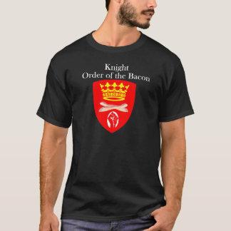 Riddaren beställer av baconen t shirts