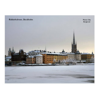 Riddarholmen Stockholm, foto… Vykort