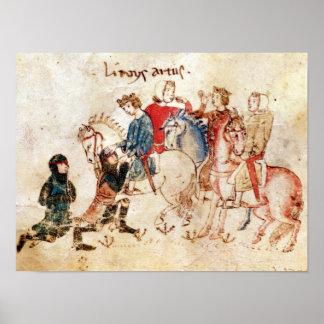 Riddarna Esclabor och Arphasar erbjudande Poster