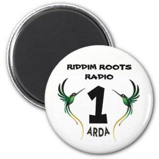 Riddim rotar radiosände 1 Arda kylmagnet Magnet