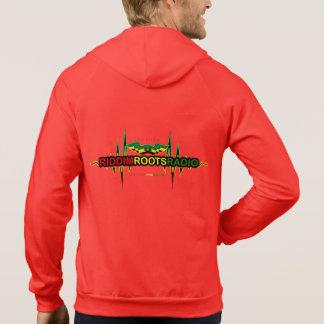 Riddim rotar radiosände manar hoodien för tröja med luva