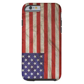 Riden ut amerikanska flaggan tough iPhone 6 fodral