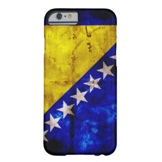 Riden ut Bosnienflagga Barely There iPhone 6 Skal