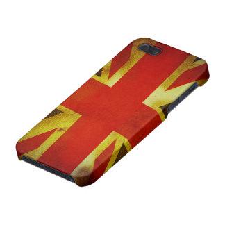 Riden ut brittisk flagga iPhone 5 hud
