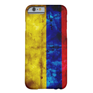 Riden ut Colombia flagga Barely There iPhone 6 Skal