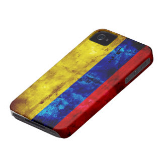 Riden ut Colombia flagga iPhone 4 Case-Mate Skal