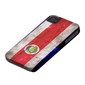 Riden ut Costa Rica flagga iPhone 4 Case-Mate Fodral