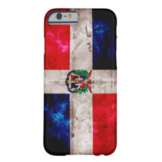 Riden ut Dominikanska republikenflagga Barely There iPhone 6 Fodral