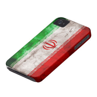 Riden ut Iran flagga Case-Mate iPhone 4 Skal