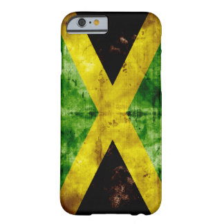 Riden ut Jamaica flagga Barely There iPhone 6 Fodral
