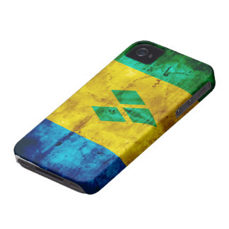Riden ut Sanktt Vincent flagga iPhone 4 Skal